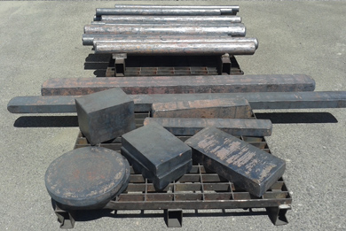 Forged Parts made in non-ferrous alloys